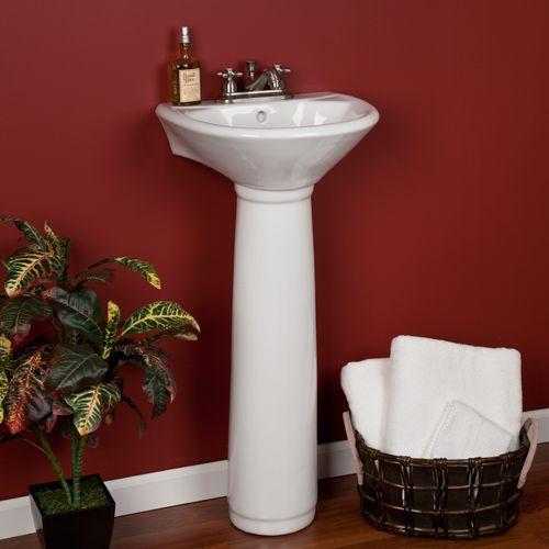 17 best pedestal sink images on Pinterest Bathroom sinks, Pedestal