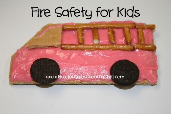 Fire Safety Week Activities For Kids Monday Meals Attivit Camion E Sicurezza