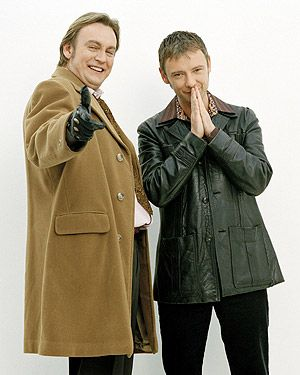 "Philip Glenister and John Simm. I really miss ""Life on Mars."" We all do Gene"