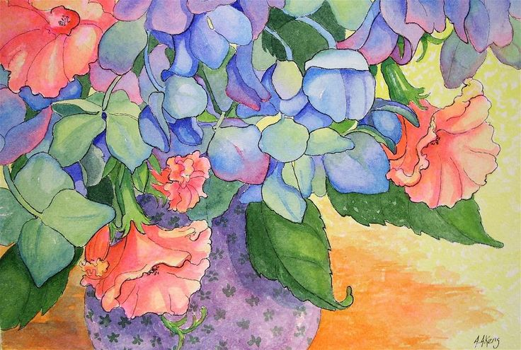 Alida Akers   WATERCOLOR