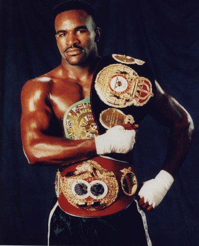 EVANDER HOLYFIELD (Cruiserweight Title Reign:1986-88) Evander could no more be discouraged than ice welded or steel melted. Driven by that ramrod certainty that comes from knowing you are capable of triumphing over anything and everything through sheer determination, he fought on, no matter the odds or the circumstances. - Sugar/Atlas (Aethon)