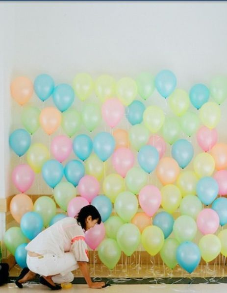 Balloons for the entry way:)