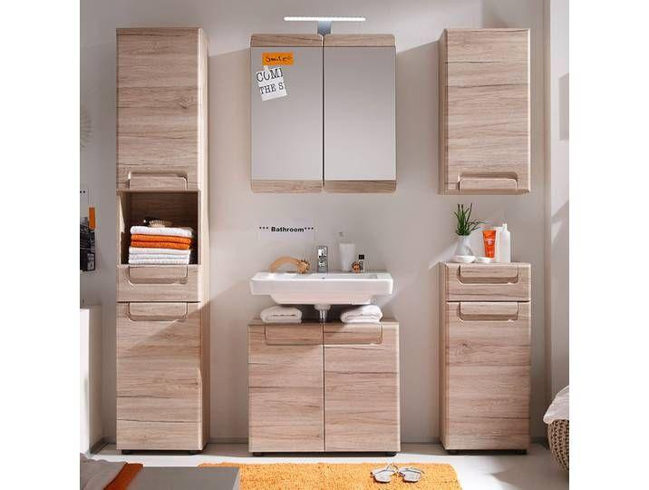 Badezimmerset Lamea Ii 5 Teilig Mirror Cabinets Bathroom