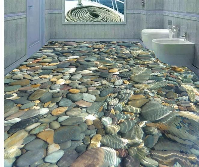 Aliexpress.com : Buy Custom photo floor wallpaper 3D stereoscopic 3D floor pebbles 3d mural PVC wallpaper self adhesion floor wallpaer  20158180 from Reliable wallpaper suppliers on China Hd mural market  wholesale and retail  | Alibaba Group