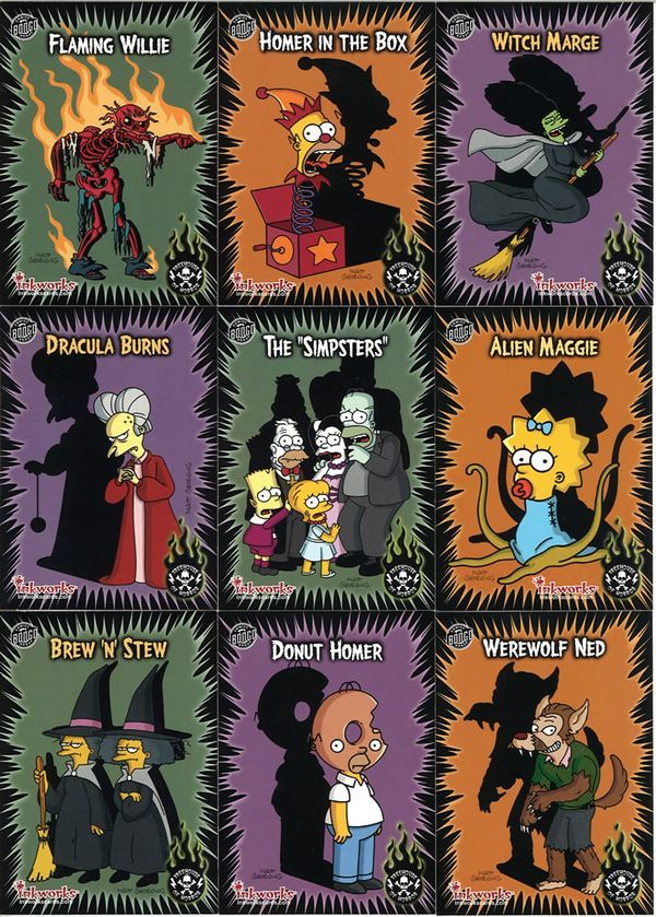 Halloween Simpsons Treehouse Of Horror.Pin By Jennifer Dlc On Tattoos In 2019 The Simpsons Simpsons