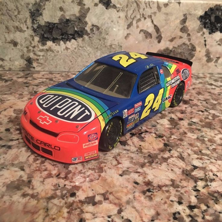 Jeff Gordon No. 24 DuPont Chevy Monte Carlo 1:24 Die Cast Car (1991 Chevy Body) #Action #Chevrolet