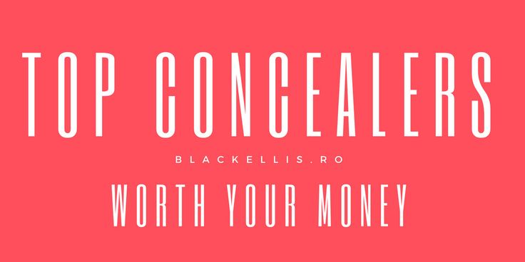 Top Concealers Worth Your Money www.sta.cr/2RBy4