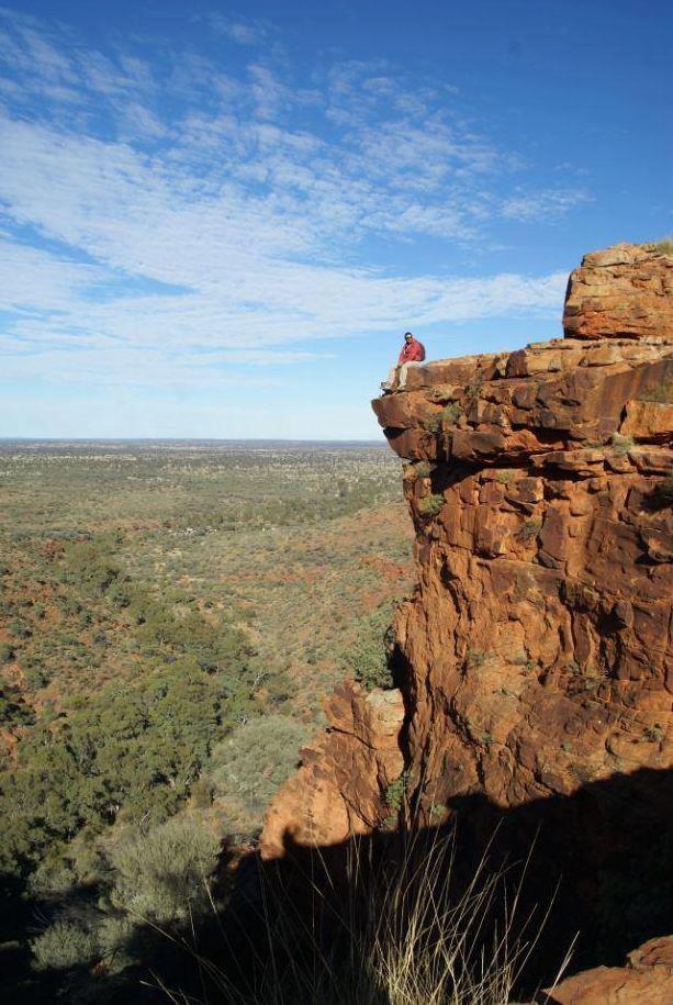 King's Canyon - Northern Territory - Australia - photo by Sandy Robertson