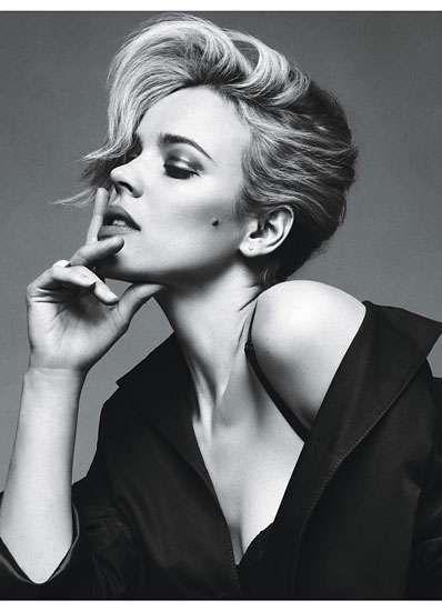 Woody's Women for W Magazine June 2011 Captures Allen's Favorite Beauties trendhunter.com