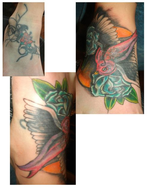 Tattoo Picture At Checkoutmyink Com: 38 Best Rose Ankle Tattoo Cover Up Images On Pinterest