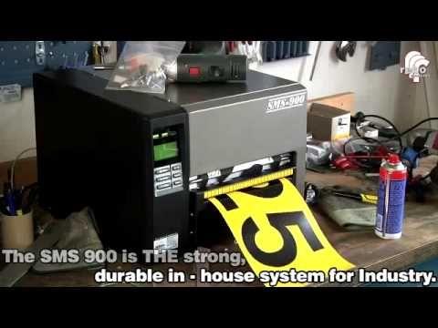 SMS900 Sistema Stampa Etichette Grandi Formati