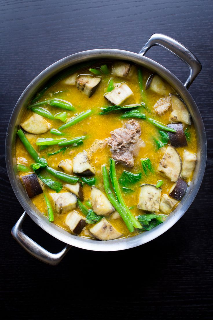 Kare Kare (phillippine Oxtail And Tripe Stew)