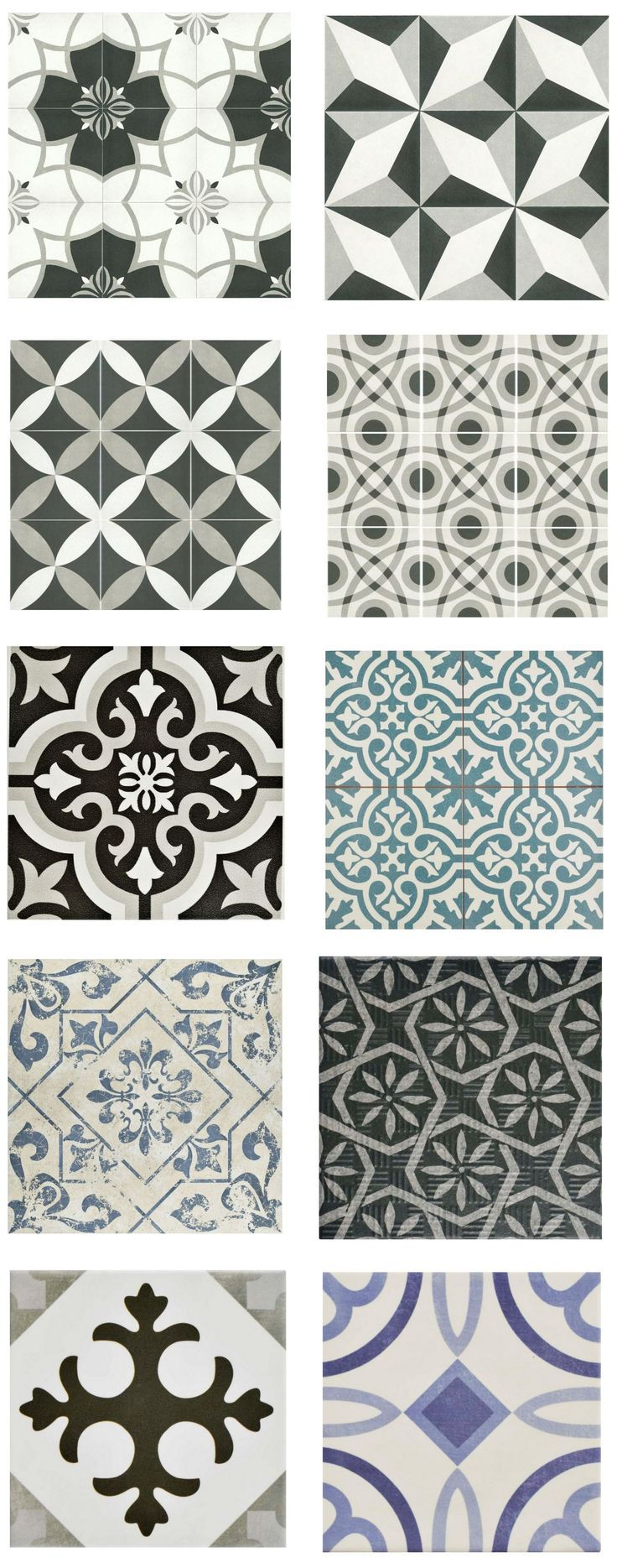 Cement Look Tile for Less