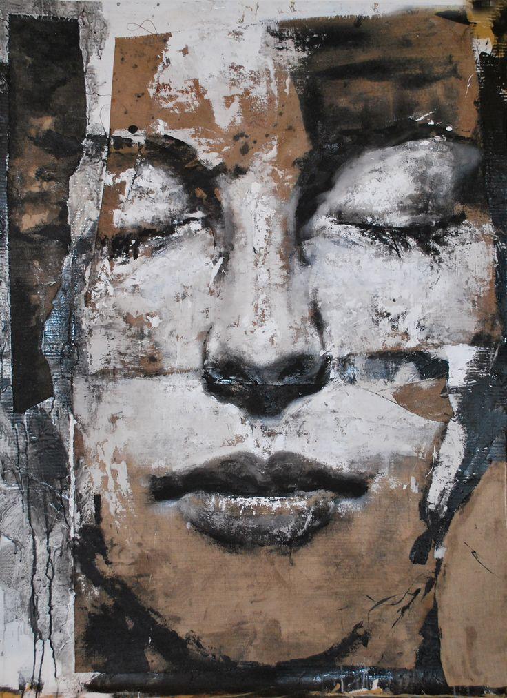 Painting Human figure Other - Artist Max Gasparini (Bergamo Italy)