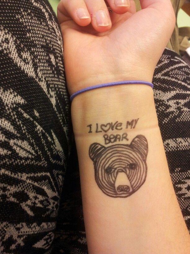 #bear# #tattoo art#