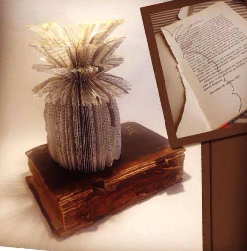 Ananasmoro av gamle bøker! :)
