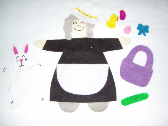 There Was An Old Lady Who Swallowed A Chick by MissKellysFelt, $10.00