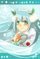 Snow Miku 2015 by FuonShiro