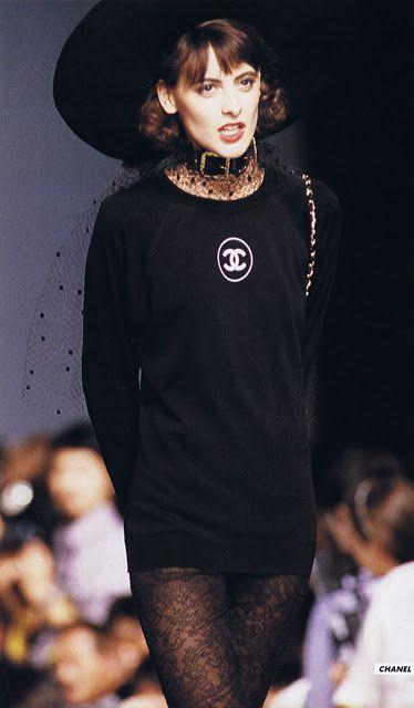 #Ines #de la Fressange égérie de #Chanel pendant les années 70 / 80