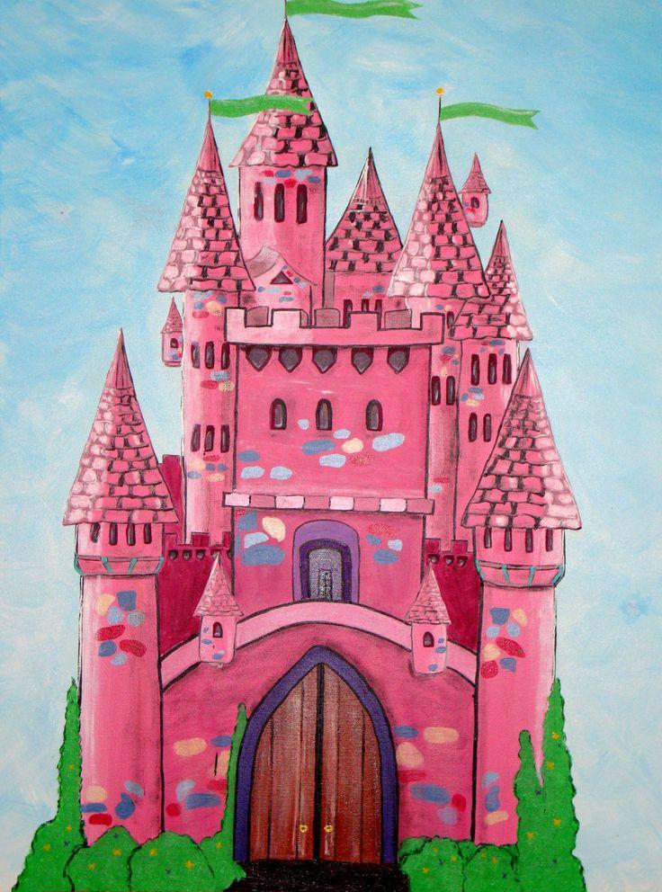 """KYRA'S CASTLE *NOT FOR SALE* Acrylic on canvas 76cmx102cm (30""""x40"""")"""
