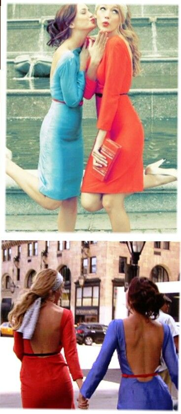 Gossip Girl - Blair and Serena