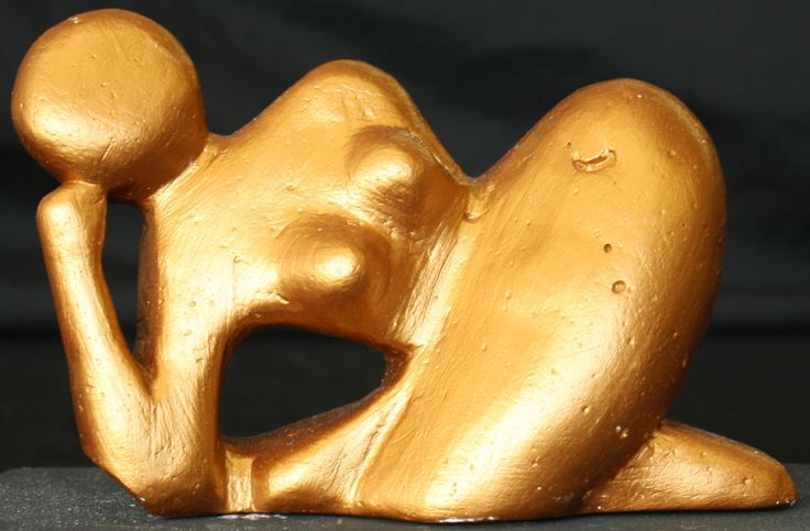 """To Be Lustrous"" #plaster #art #sculpture"