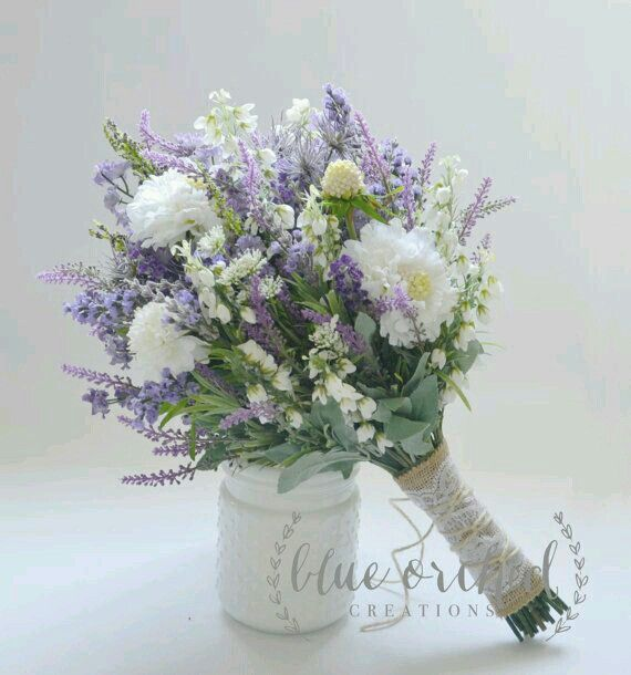 Definitely lilac and eucalyptus for bridesmaid purples