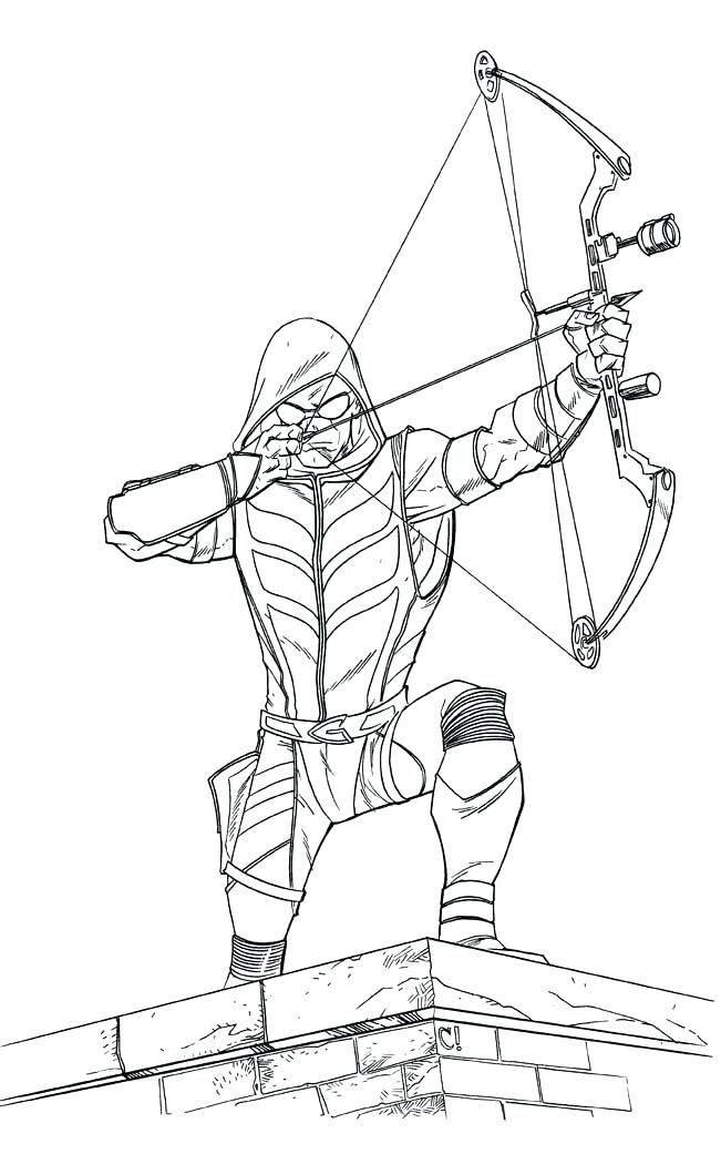 Green Arrow Coloring Pages Best Coloring Pages For Kids In 2020 Green Arrow Green Arrow Comics Batman Coloring Pages