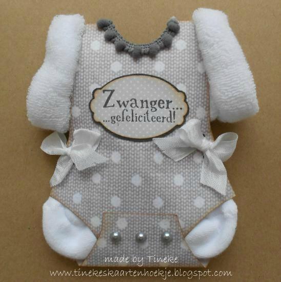 Tineke's kaartenhoekje: Zwanger...gefeliciteerd!  Leuk project!