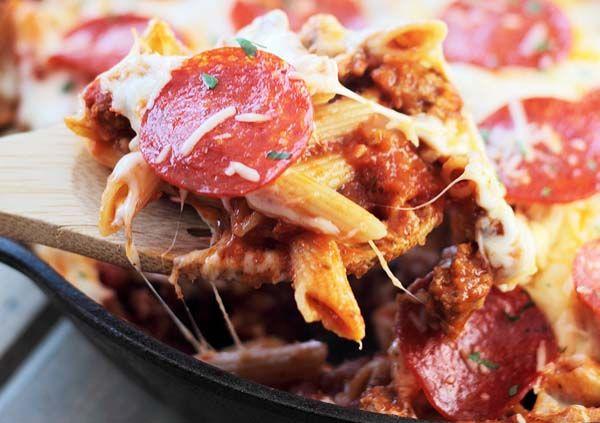 Egy edényes pizzás tészta