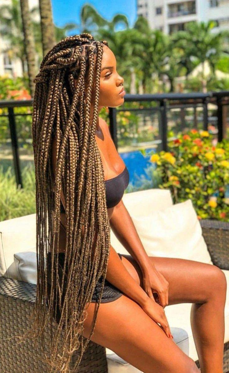 Sexy black hair braid photos