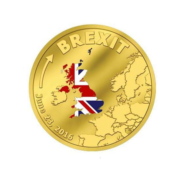 Cookeilanden - $20 - goud / gold coin - Brexit 23 juni terugtrekking van Groot-Brittannië uit de EU - gepolijste plaat - editie enige 2016 stukken  Cook eilanden $20 gouden munt met een beperkte oplage van slechts 2016 stukken.Brexit Verenigd Koninkrijk 23 juni 2016 - met certificaat - in capsule. Een mooie muntmet veel potentie - was Britse EU-Exit een historische gebeurtenis.Vervaardigd met de hoogste slaan kwaliteit gepolijst plaat. Zeer beperkte oplagezeldzaam om te vinden!Land: Cook…