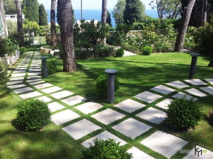 Садовые дорожки: самые необычные примеры