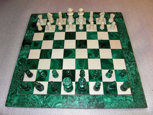 In search of a gorgeous chess set.