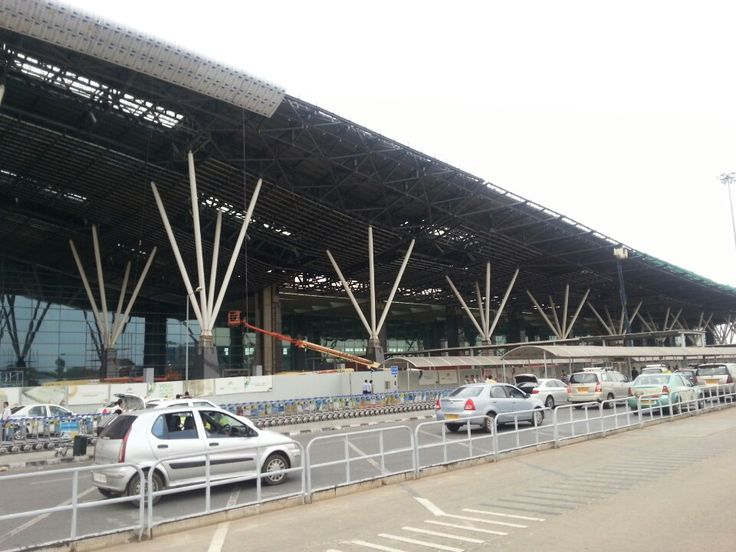 Kempegowda International Airport (BLR) in Bangalore, Karnātaka