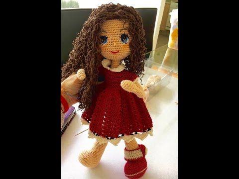 Empezamos a tejer Muñeca Carolina (piernas) amigurumi By Petus PRIMERA PARTE - YouTube