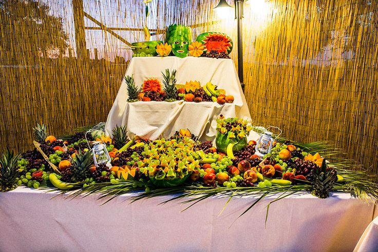 Il tavolo della frutta