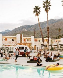 Ace Hotel and Swim Club in Palm Springs - Why Palm Springs is perfect for New Year's Eve.