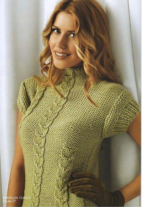 green pulover (481x699, 124Kb)