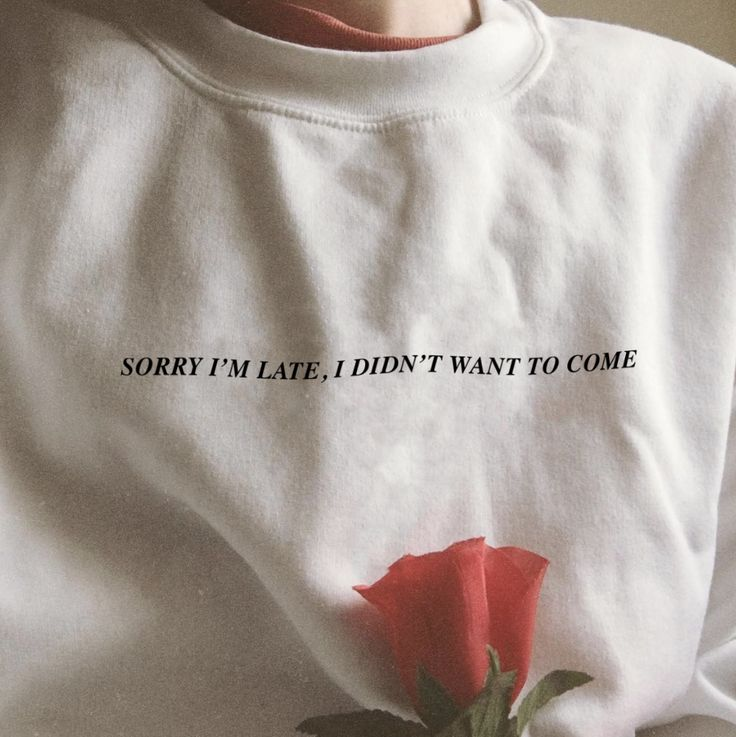 """""""Sorry I'm Late, I Didn't Want To Come"""" Tee   Free Shipping Worldwide 🌎Great Design Good Vibes 💯Ethical & Sustainable Production 💪Love it or …"""