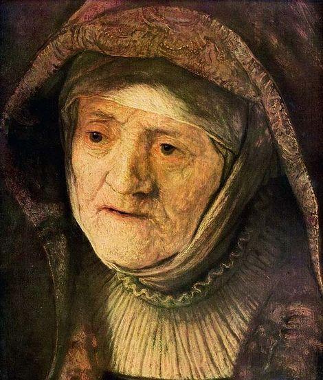 Rembrandt van Rijn, Portrait of Mother on ArtStack #rembrandt #art