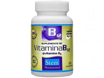 Vitamina B12 + B6 60 Cápsulas - Stem Pharmaceutical