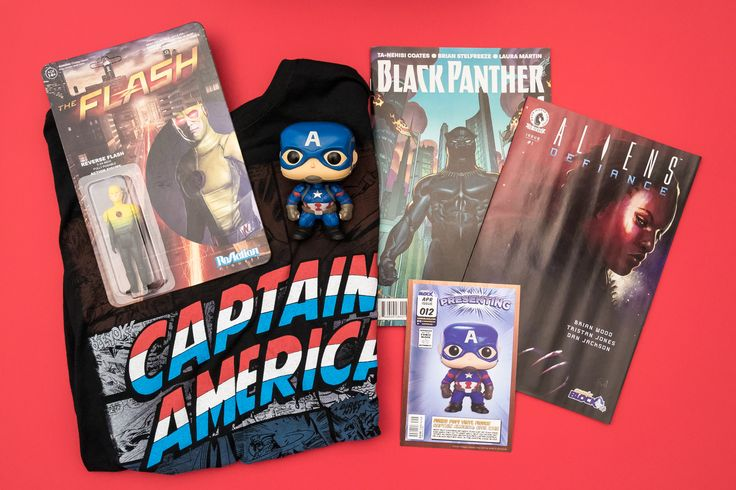Comic Block April 2016 #nerdblock #subscription #review #marvel #comics #toys #funko #nerd #geek