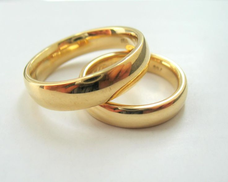 Eheringe aus 750 gold
