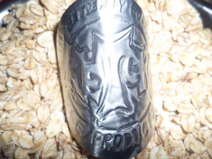 Custom Headtube badge made by Jamie Reeves (AUS)