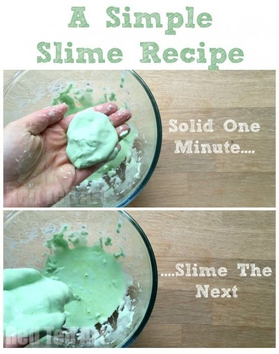 how to make oobleck with flour