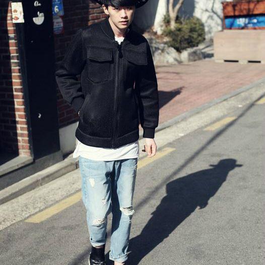 Korea men's fashion mall, Hong Chul style [NOHONGCUL.COM GLOBAL] District Boy Pants / Size : S,M,L / Price : 81.35 USD #mensfashion #koreafashion #man #KPOP #bottom #pants #jeans #NOHONGCUL_GLOBAL #OOTD