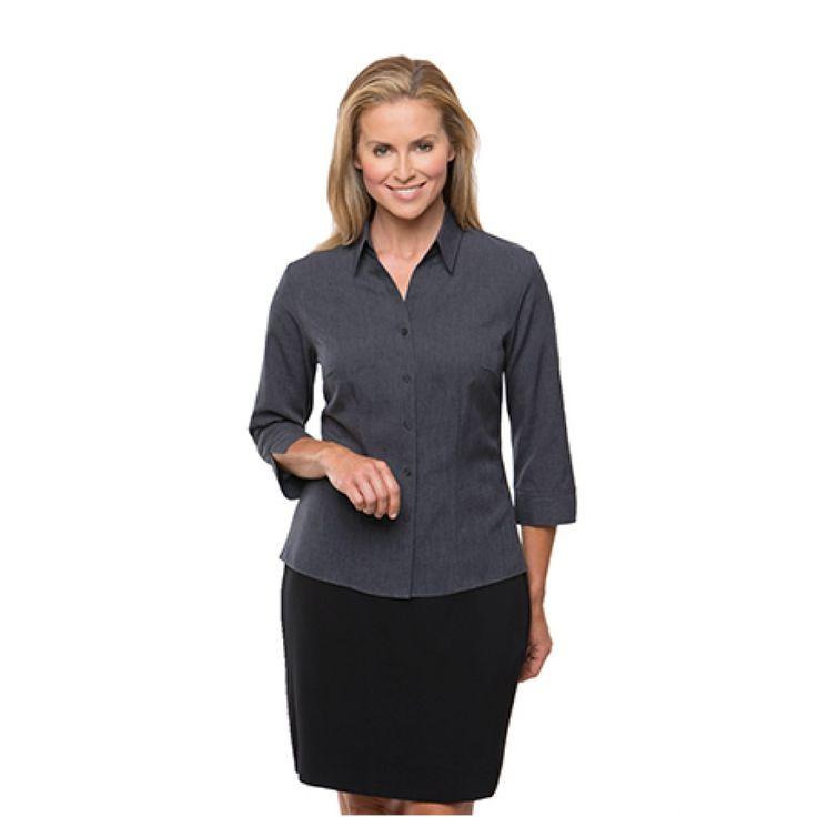 City Collection Ezylin 3/4 Sleeve Shirt – 2145