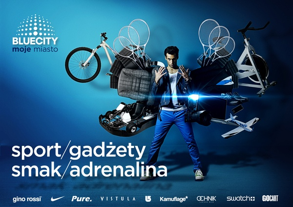 BlueCity - shopping centre by Arek Bączyk, via Behance