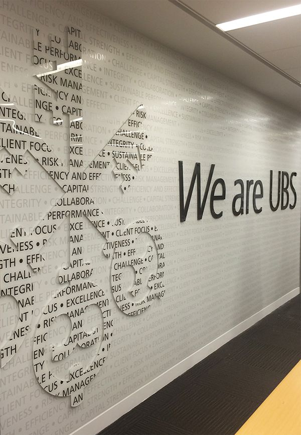 Subtle Yet Eye Catching Dimensional Wall Mural Produced By Applied Image  Inc. Environmental GraphicsWall ...